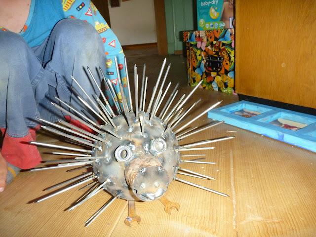 Kurs Schweissen Metal werken Kinder Erwachsene