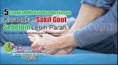 5 Langkah Berkesan Kurangkan Sakit Gout Sebelum Lebih Parah