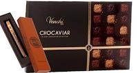 Logo Vinci gratis una confezione di cioccolato Venchi