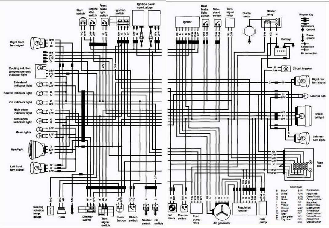 cbr 600 f4i wiring diagram ford focus 2002 honda manual e books suzuki librarysuzuki vs700 intruder motorcycle 1986 complete electrical