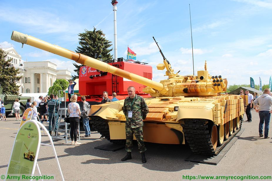 9a12331fea35 world new news  Army of Belarus tests T-72BME upgraded T-72A main battle  tank