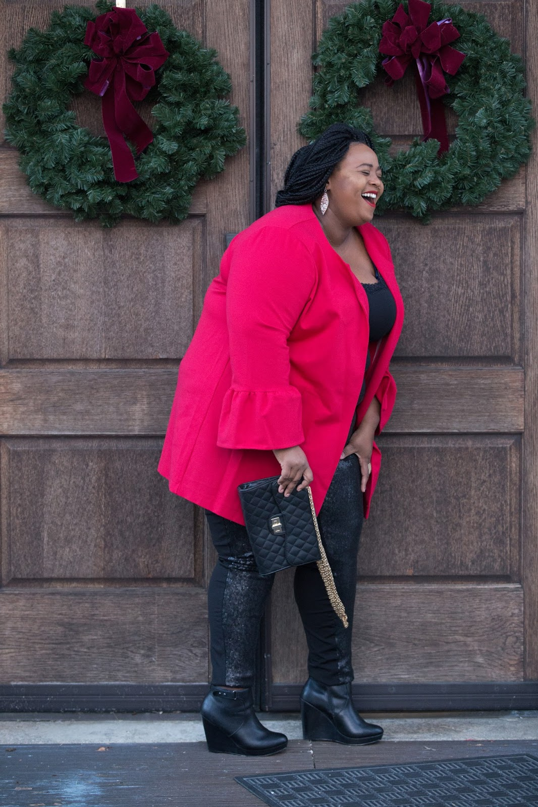 Top Plus Size Black Blogger