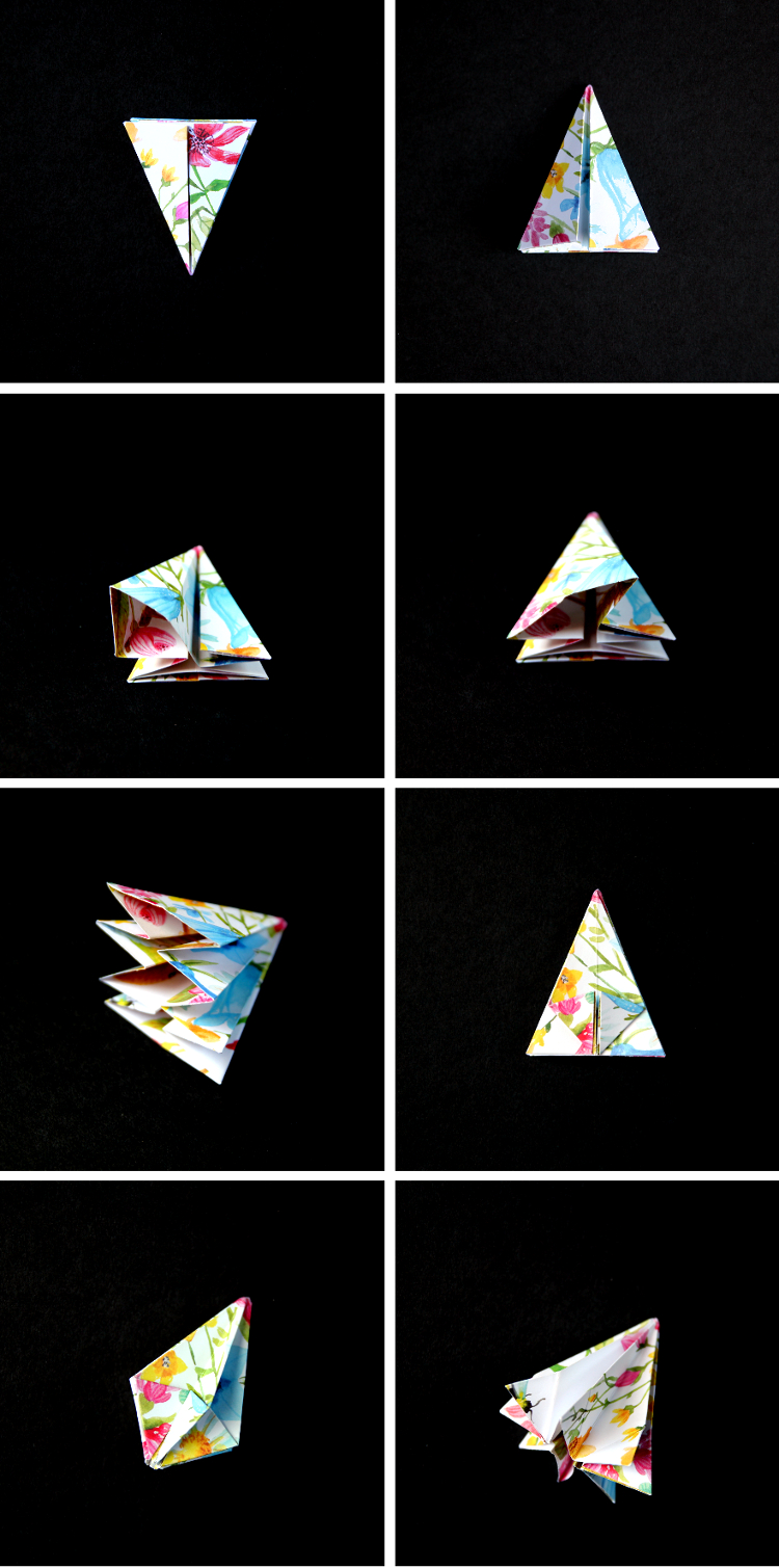 HOW TO MAKE DIY ORIGAMI DIAMOND DECORATIONS