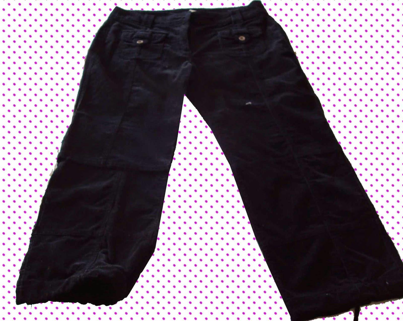Como convertir un pantalon en falda