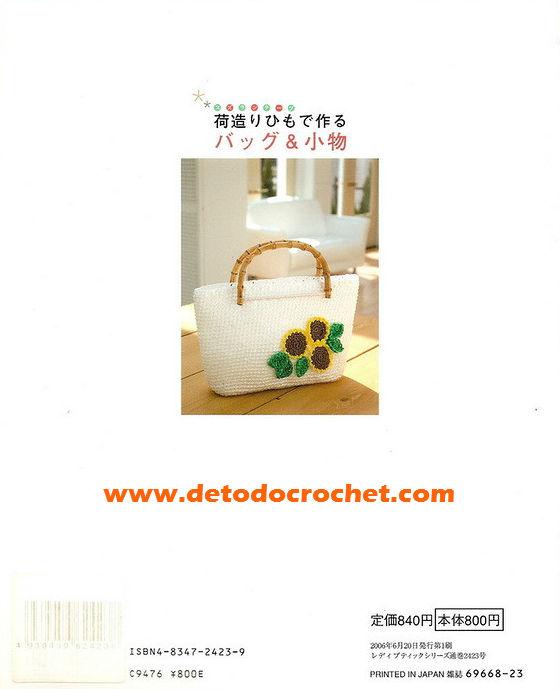 patrones de bolsos crochet