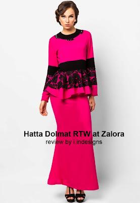 fesyen muslimah terbaik hari raya aidilfitri