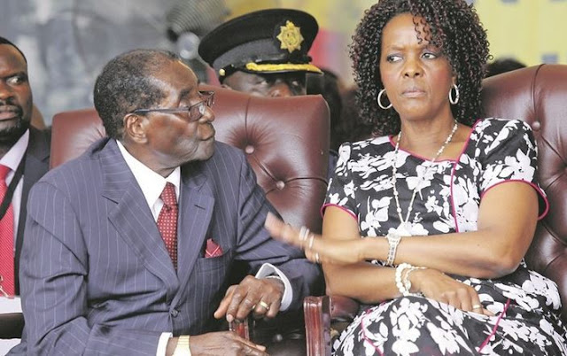 Grace Mugabe Allegedly Files For Divorce From 93-Year-Old Robert Mugabe