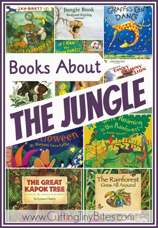 picture books about the jungle or rainforest