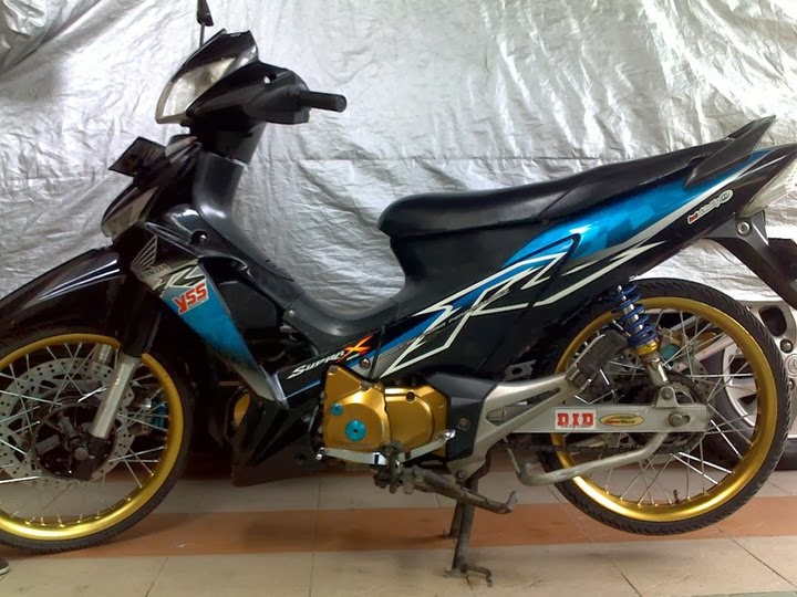 Modifikasi Honda Supra X