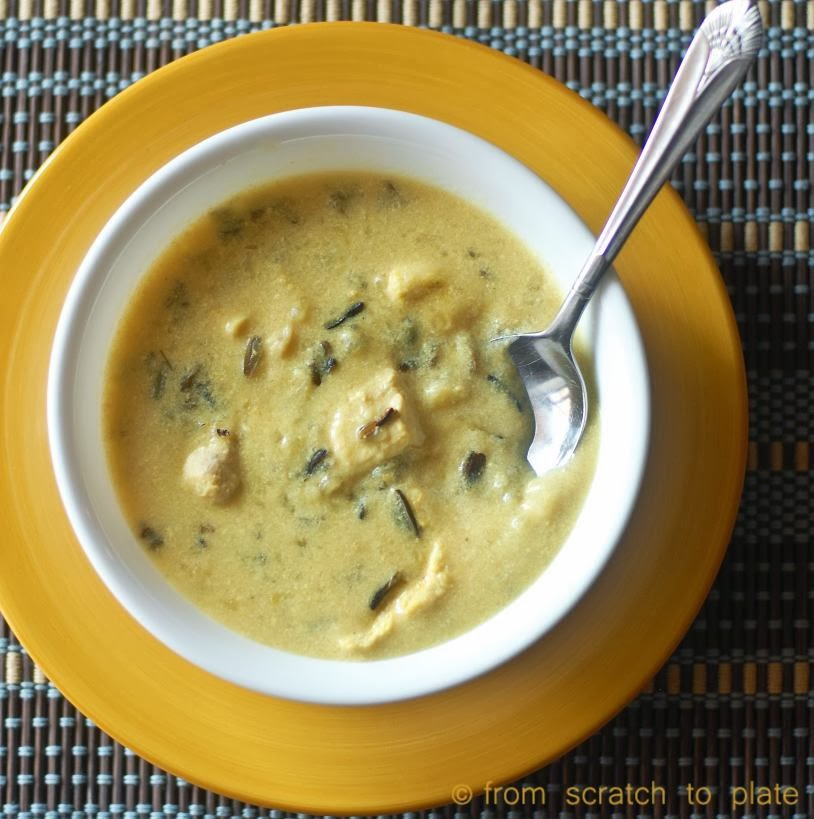 Slow Cooker Creamy Chicken and Wild Rice Soup by From ...