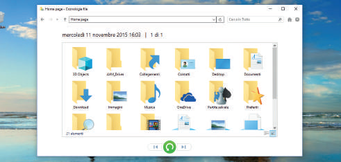 Come proteggere file e Documenti in Windows 10 punti di ripristino