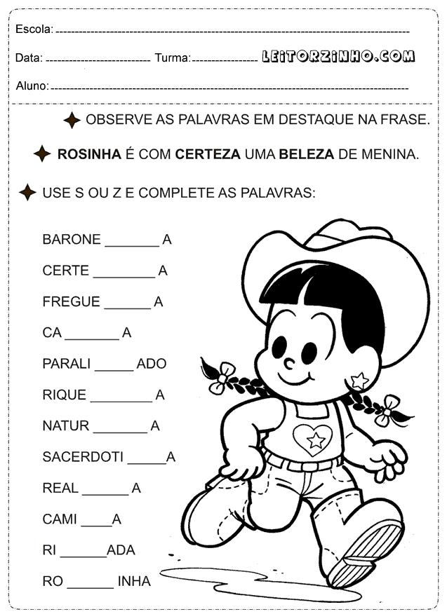 Leitores Atividades De Portugues 4 Ano Ensino Fundamental