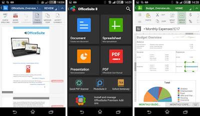 تطبيق OfficeSuite كامل للأندرويد, تطبيق OfficeSuite مكرك, تطبيق OfficeSuite عضوية فيب