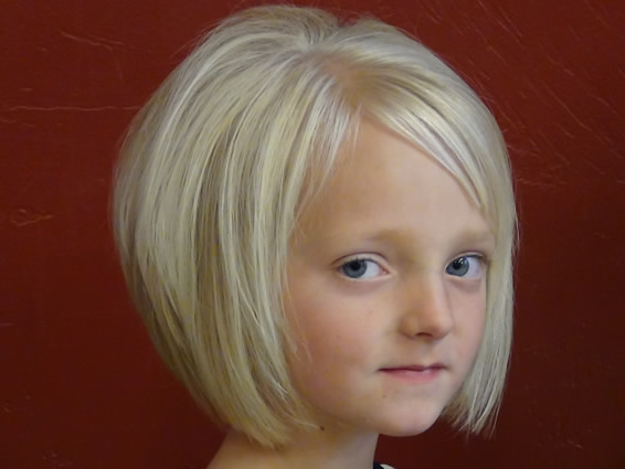 short hairstyles girls ages
