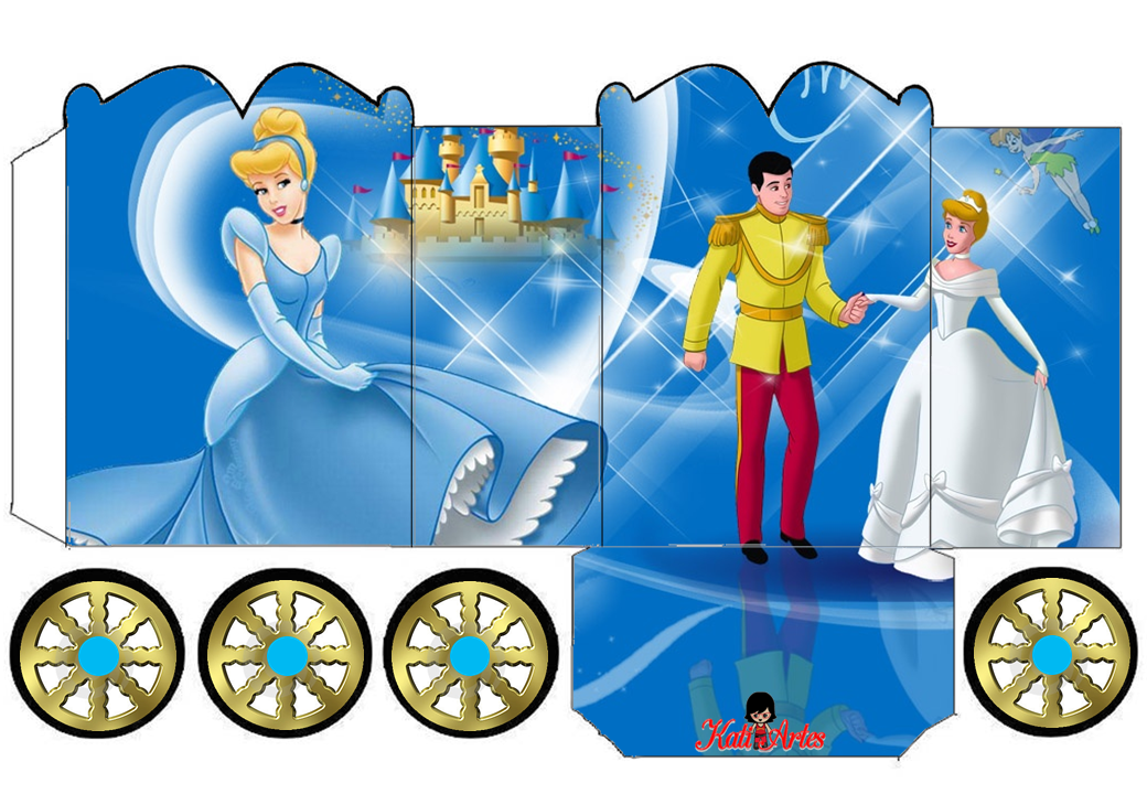 Nderella Princess Carriage Box Idade Media