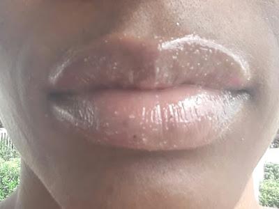 Ilia Balmy Nights Lip Exfoliator swatch www.modenmakeup.com