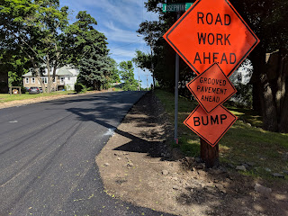 Road work underway in the Apline Place/Ruggles neighborhood