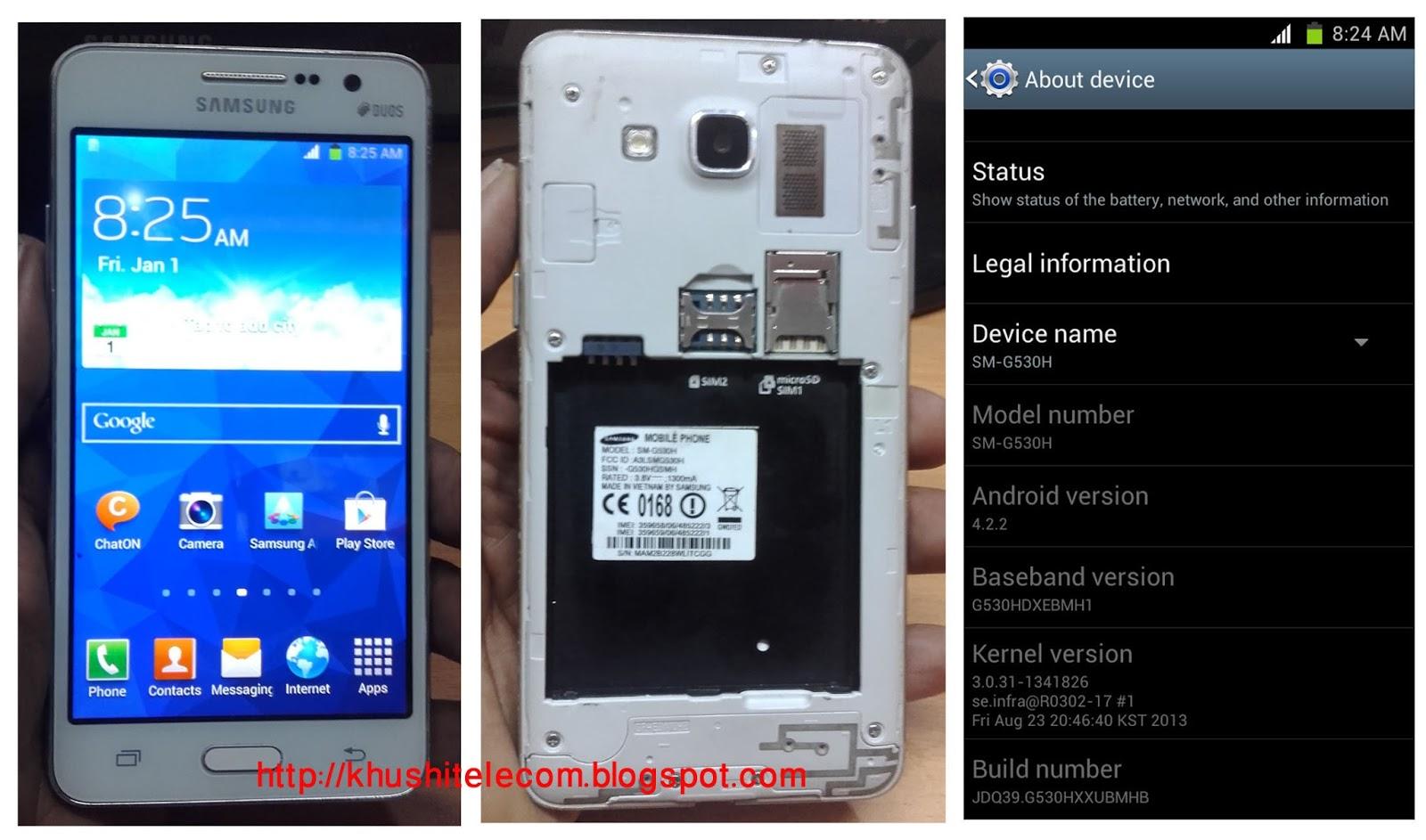 Samsung G530H MT6572 Clone firmware free Download - KHUSHI