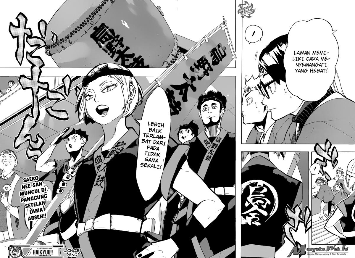 Haikyuu!! Chapter 251-18
