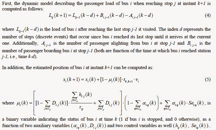 The wonky way of studying bus service