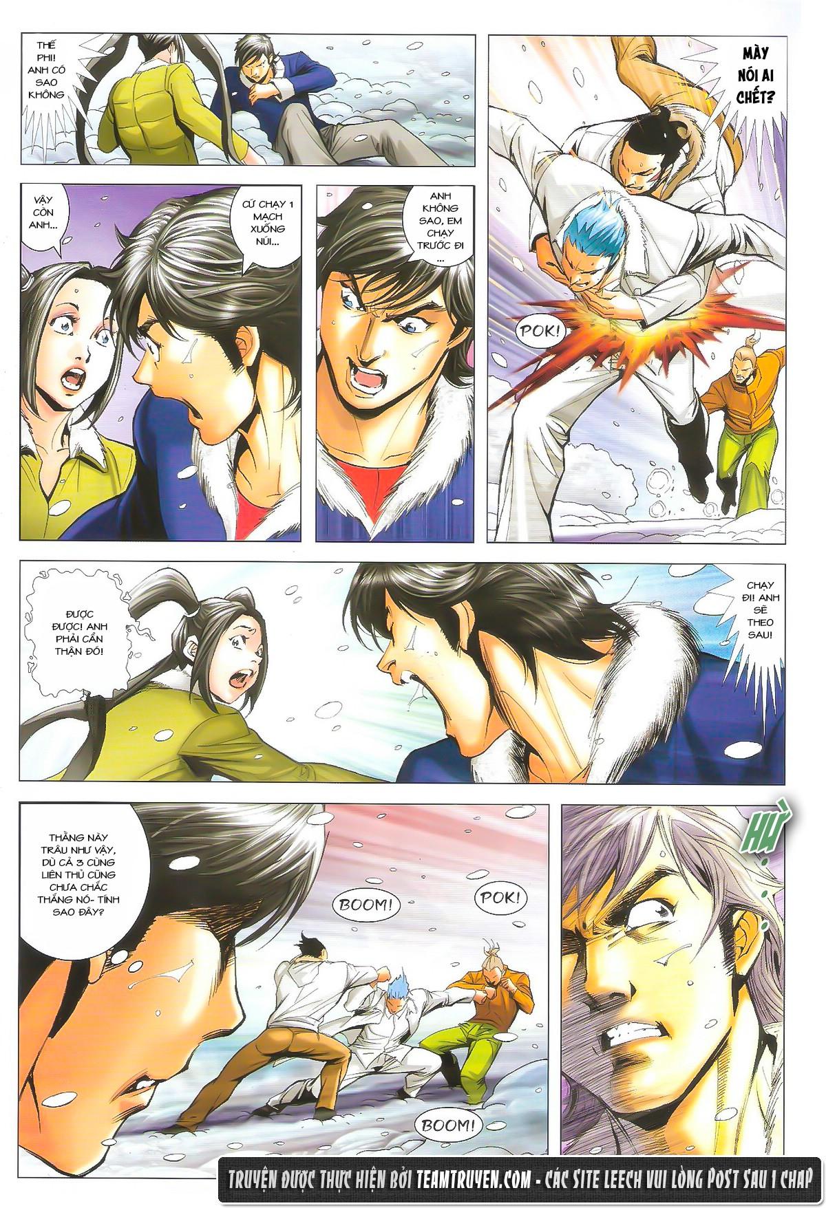 Người Trong Giang Hồ chapter 1614: tiễn mày một đoạn trang 13