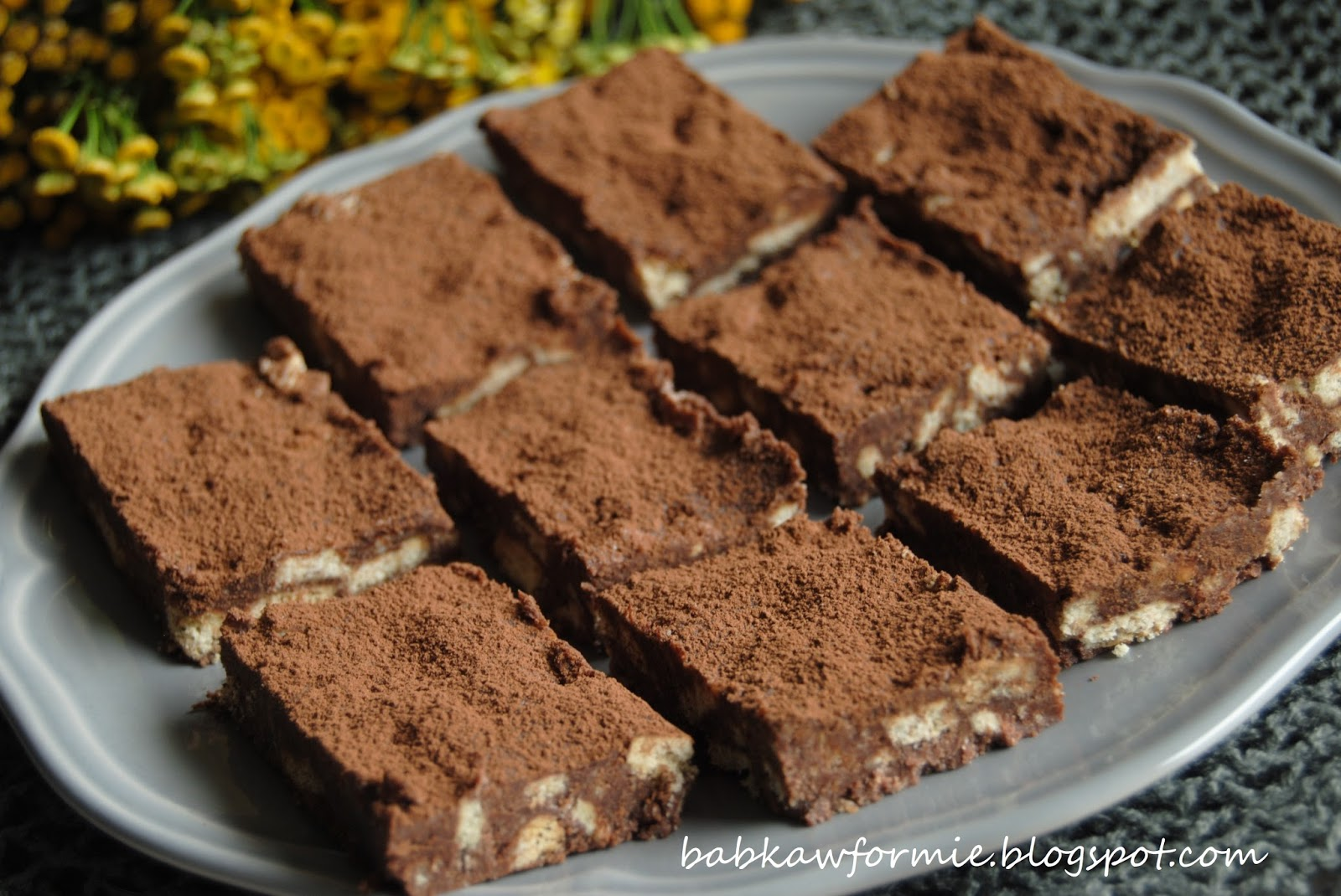 blok czekoladowy babkawformie.blogspot.com