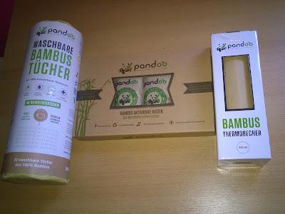 Bambus Küchenrolle, Lufterfrischer und Thermoflasche