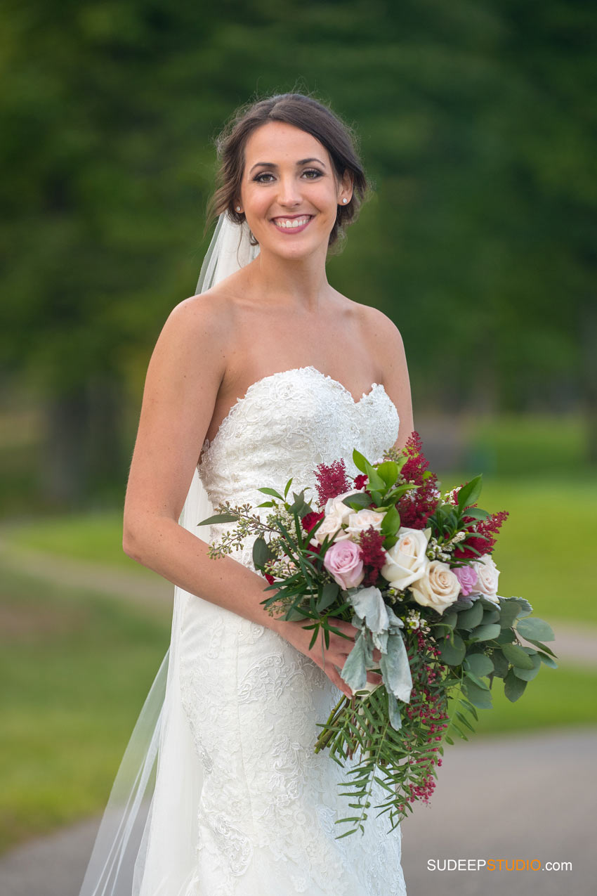 Bridal Portrait Solitude Links Port Huron Wedding Photography by SudeepStudio.com Ann Arbor Wedding Photographer