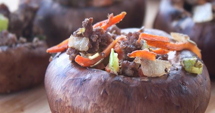 bacon rosemary stuffed mushrooms recipe all recipes uk