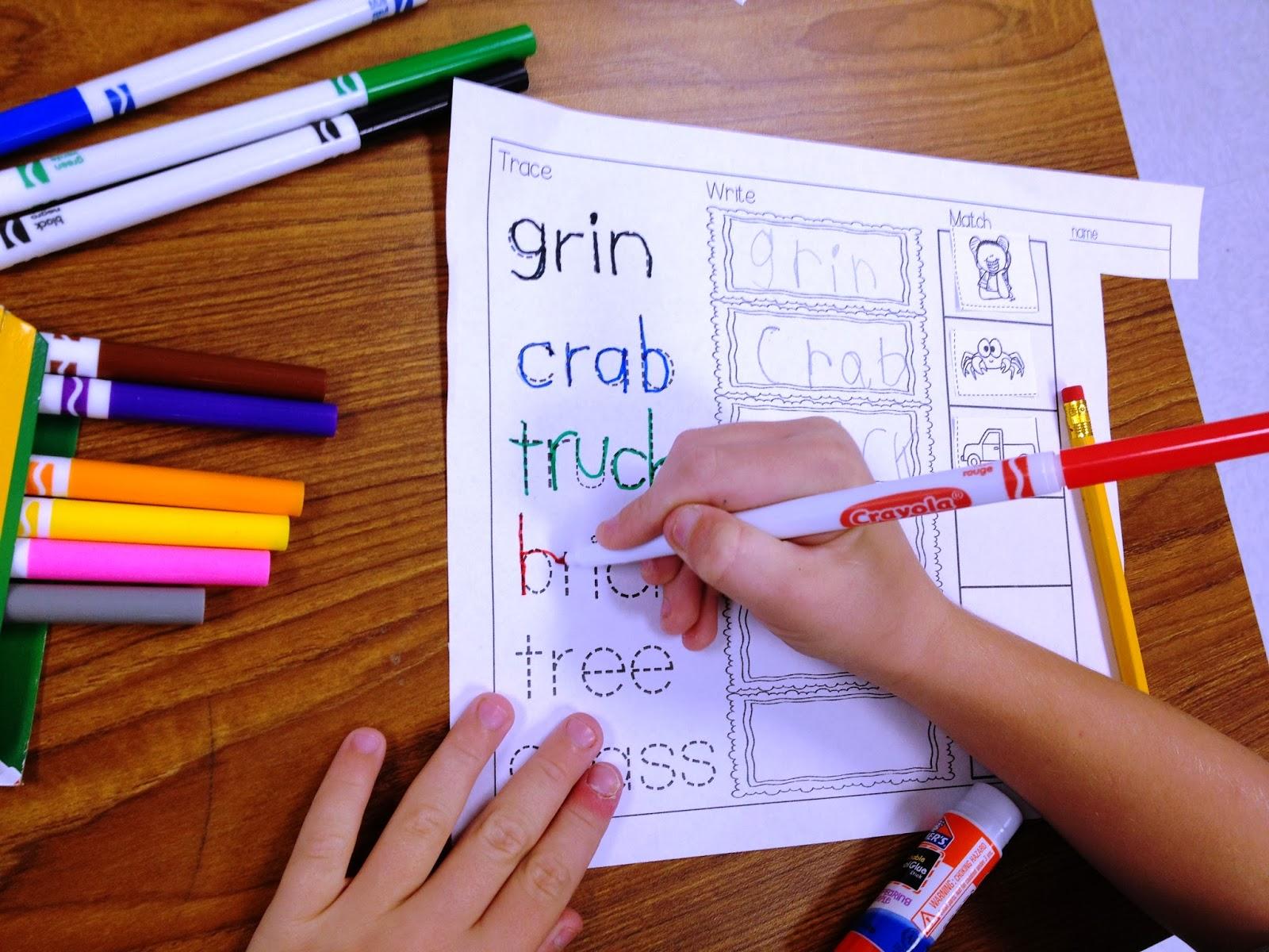 Tunstall S Teaching Tidbits Purposeful Word Work Blends