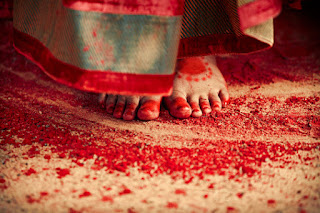 Red Designer Ghagra Choli (2).jpg