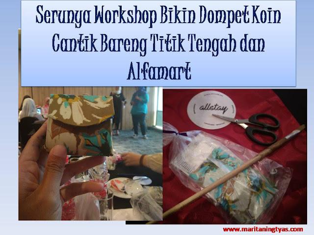 Workshop Daur Ulang Sampah Rumah Tangga bersama Titik Tengah Partnership dan Alfamart