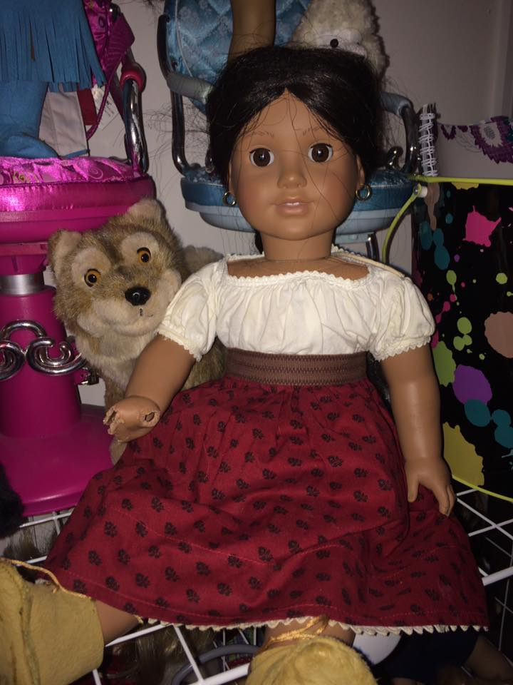 5d0bbc5ea6347 This is a Just Like you doll from the 90's I believe and she came with  extra outfits for $25 the only flaw is her silvered eye which is free to  fix ...