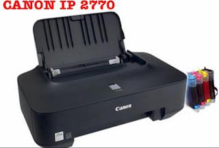 kalautau.com - Canon IP 2770 Tidak bisa Print, Blink 5x orange