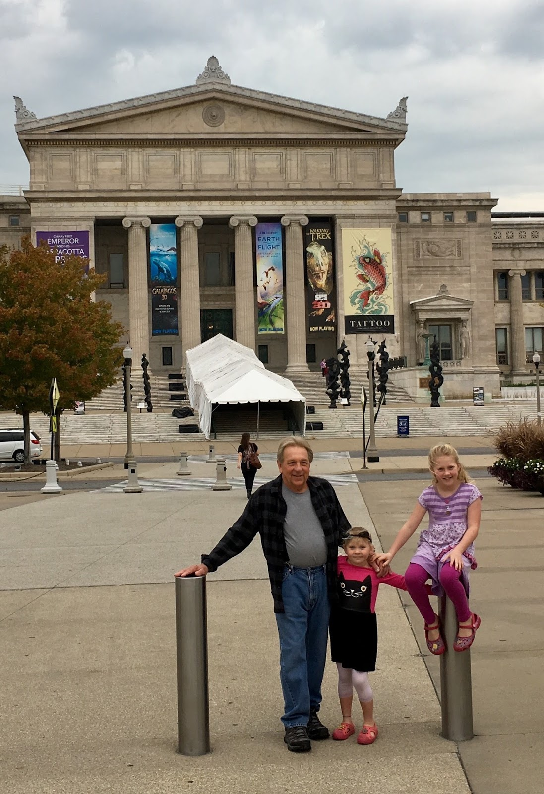 Field Museum with Grampsy