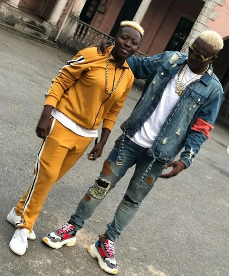 Zlatan Ibile shares first photos of his son with girlfriend