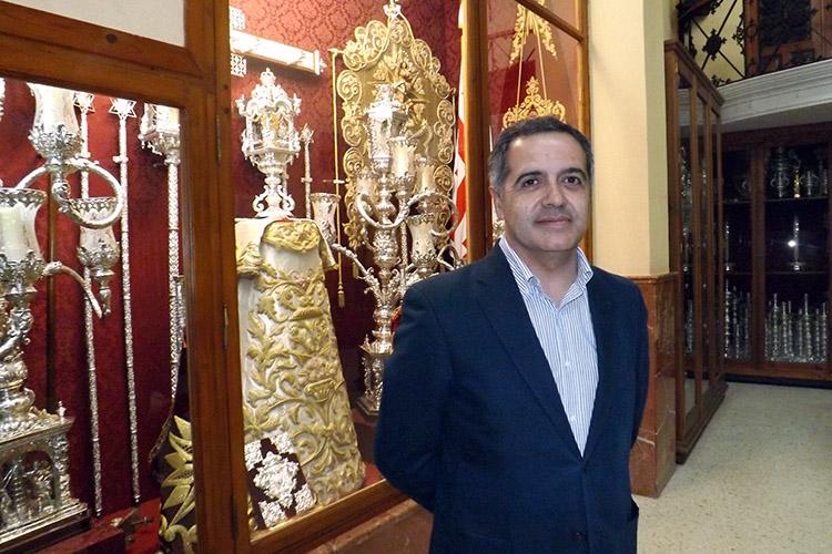 Toma de posesión de Juan José Carrasco Mateos, nuevo Hermano Mayor de nuestra Hermandad