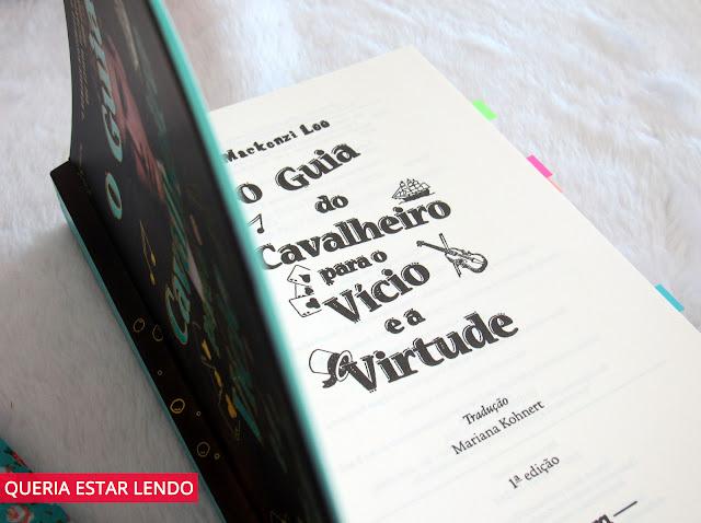 Resenha: O Guia do Cavalheiro para o Vício e a Virtude