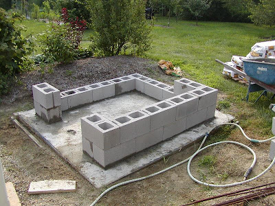 Building my Wood Fired Oven - Construction Walk-through pt1...Foundation & Stand