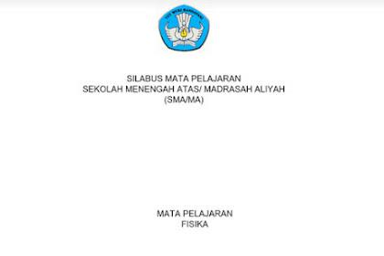 Silabus Fisika SMA-MA Kurikulum 2013 Revisi 2017 pdf