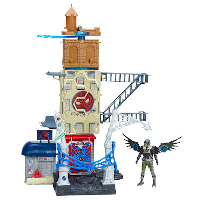 Toy Fair 2017 Hasbro Marvel Spider-Man Homecoming playset