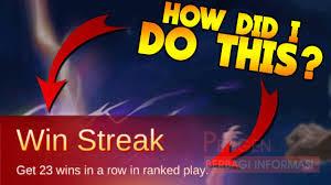 Win Streak Mobile Legends