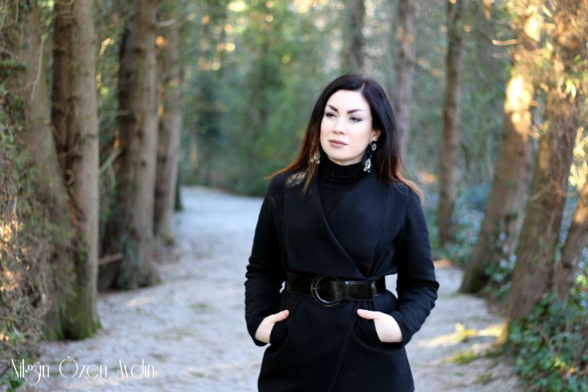 Siyah Kaşe Ceket-dachau