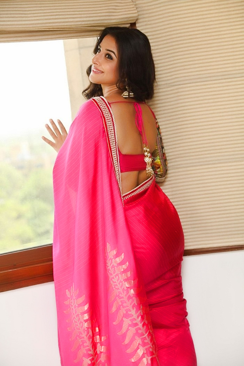 Recent Hot Saree Photos Of Vidyabalan - Bollywood Actress -3726