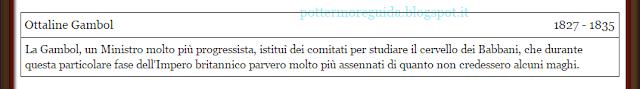 """Ottaline Gambol, dal contenuto esclusivo """"Ministri della Magia"""""""