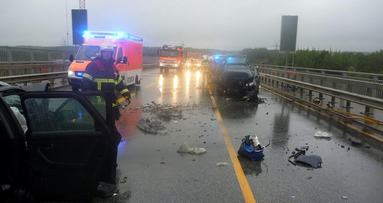 Lkw-Unfall A23 Heute