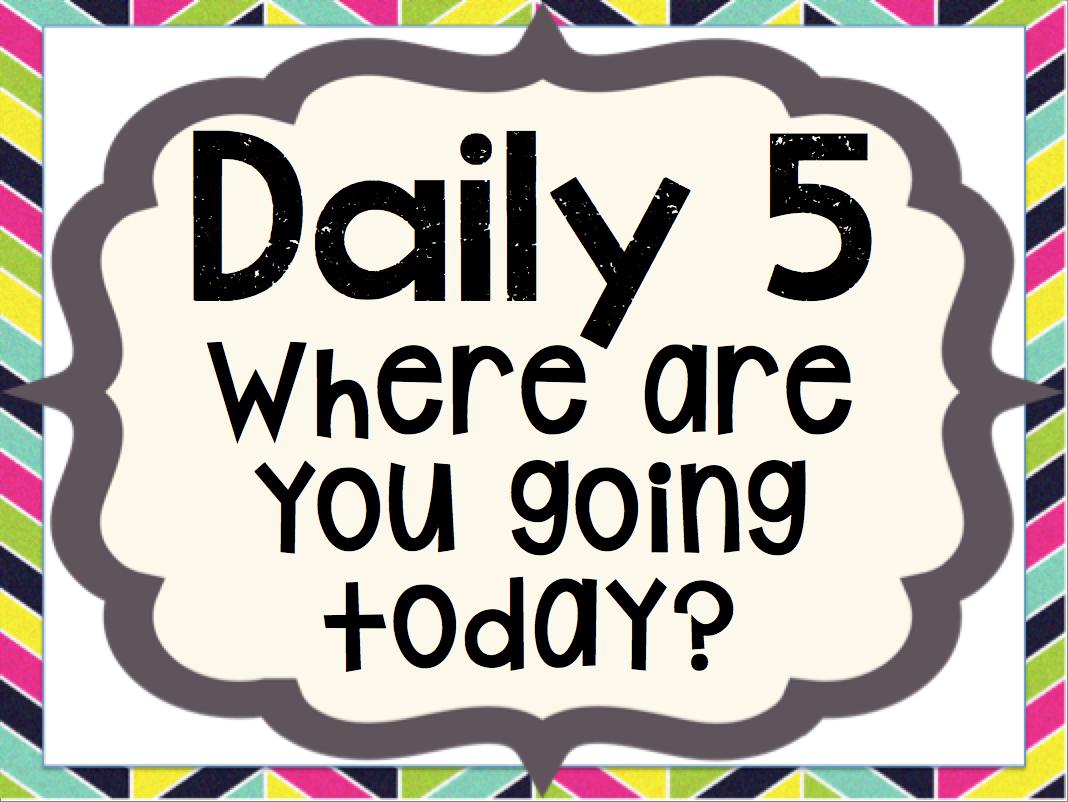 Kinder Tribe Daily 5 In Kindergarten The Basics