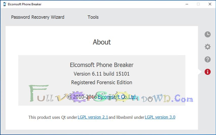Elcomsoft Phone Breaker Forensic Full Version