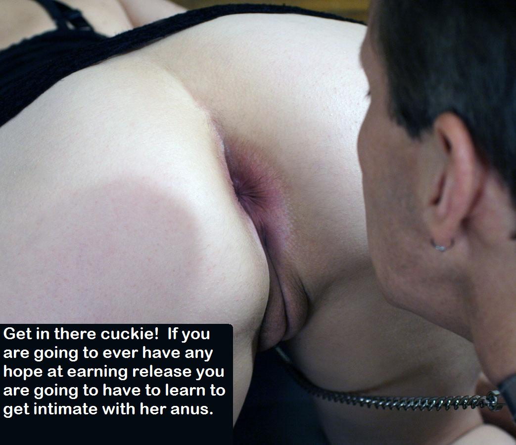 ass licking humiliation
