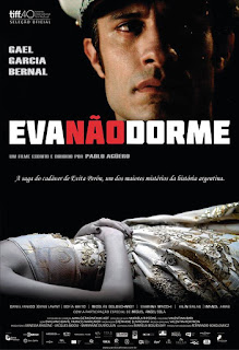 """Poster do filme """"Eva Não Dorme"""""""